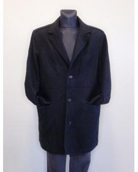 Kabát Angelo Litrico čierny, veľ.58