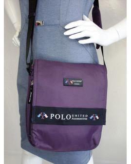 Kabelka Polo United fialová