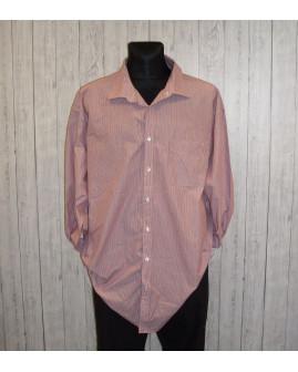 Košeľa Bexleys ružová prúžkovaná, veľ.4XL