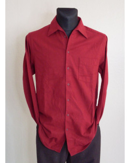 Košeľa flanelová Walbusch červená, veľ.39/40