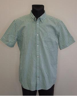 Košeľa Tom Tailor zelená károvaná, veľ.XL