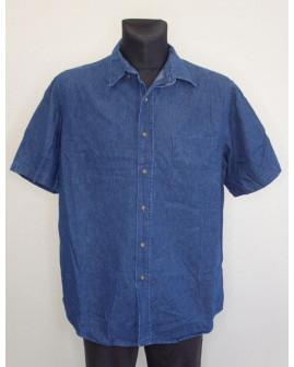 Košeľa George rifľová modrá, veľ.42/44