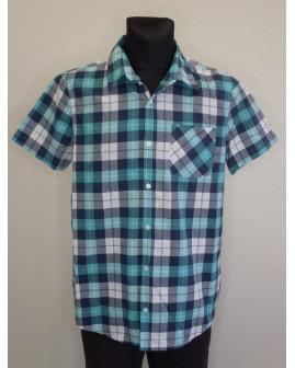 Košeľa Jean Pascale zelená károvaná, veľ.L