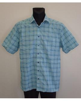 Košeľa Eterna zelená károvaná, veľ.44