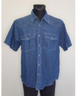 Košeľa rifľová modrá, veľ.XL
