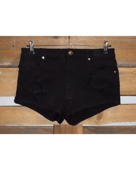 Šortky H&M rifľové čierne, veľ.40