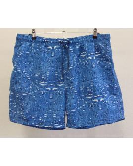 Šortky plavkové modré vzorované, veľ.XL