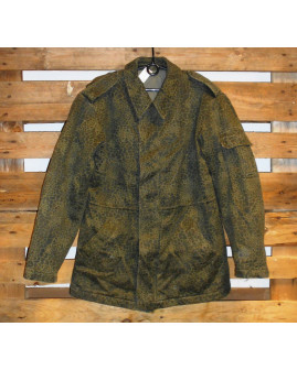 Maskáčový zimný kabát, veľ.56