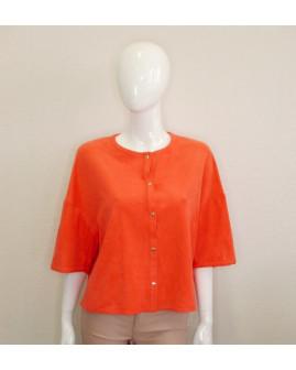 Blejzer Betty Barclay oranžový, veľ.L/XL