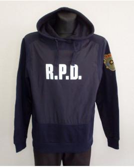 Mikina Resident Evil tmavomodrá s nápisom, veľ.XL
