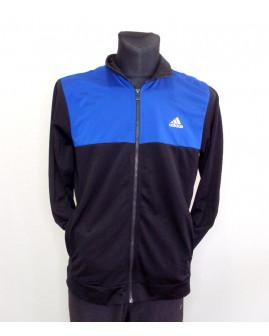 Mikina Adidas čierno-modrá, veľ.M