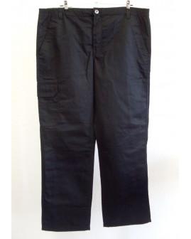 Pracovné nohavice Powerfix  čierne, mierne zateplené, veľ.56