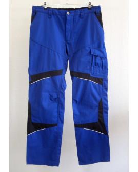 Montérkové nohavice Kubler modré, s reflexnými prvkami, veľ.54