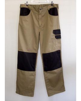 Montérkové nohavice Powerfix hnedé, veľ.54