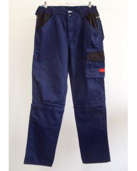 Montérkové nohavice Toptex / šortky modré, veľ.48/50