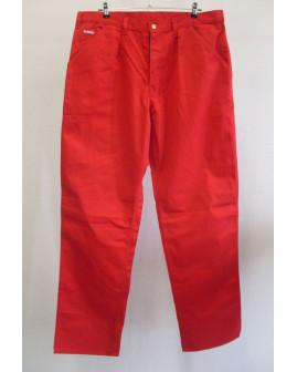 Pracovné nohavice Kansas červené, veľ.56