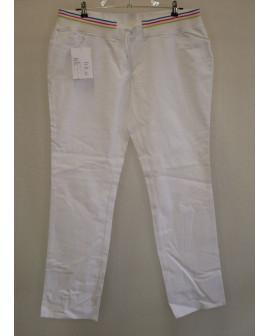 Pracovné nohavice Leiber dámske biele, veľ.46