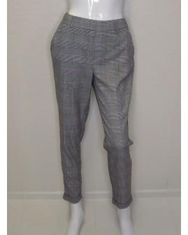 Nohavice Vero Moda sivé kárované, veľ.32