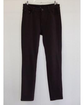 Nohavice elastické tmavohnedé, veľ.40