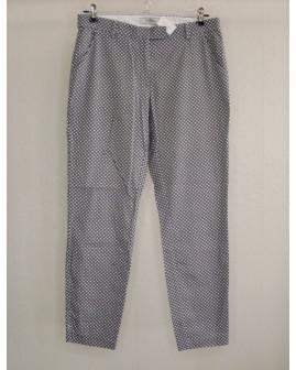 Nohavice Tchibo čierno-biele vzorované, veľ.38