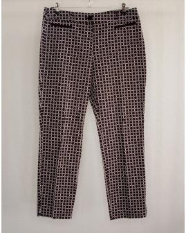 Nohavice Gerry Weber čierno-biele so vzorom, veľ.44