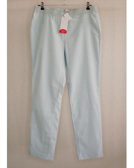Nohavice Helena Vera zelené, v páse guma, veľ.44