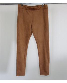 Nohavice Gina Benotti hnedé semišové, veľ.M