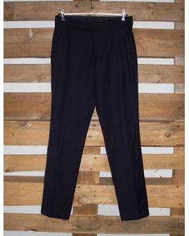 Nohavice H&M tmavomodré, veľ.46