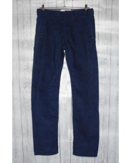 Nohavice Esprit menčestrové tmavomodré, veľ.164