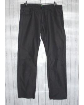 Nohavice Hugo Boss čierno-sivé, veľ.33/30