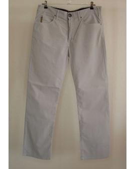 Nohavice Armani Jeans sivé prúžkované, veľ.34