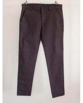 Nohavice čierne s drobným vzorom, veľ.32