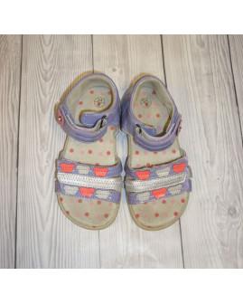 Sandálky svetlofialové, veľ.24