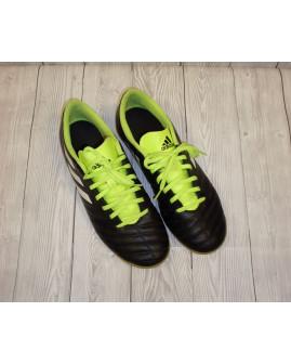 Tenisky Adidas čierne so zeleným, veľ.42