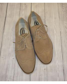 Topánky semišové béžové, veľ.43
