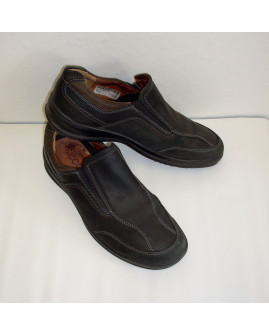 Topánky Ecco tmavohnedé, veľ.45