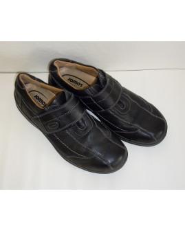 Topánky čierne na suchý zips, veľ.44