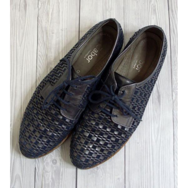 Topánky Gabor modro-sivé, veľ.7