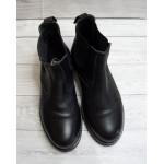 Členkové topánky čierne, veľ.41