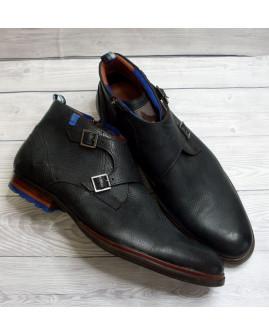 Členkové topánky čierne, veľ.11