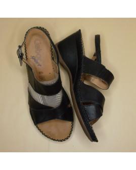 Sandále Gabor čierne, veľ.5,5