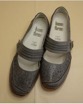 Topánky sivé, veľ.6