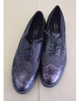 Topánky 5th Avenue tmavosivé, veľ.39