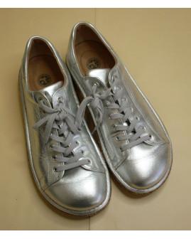 Topánky strieborné, veľ.41