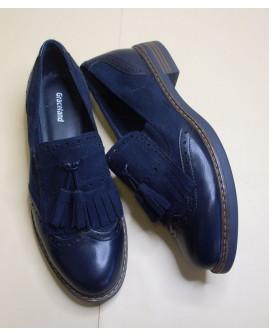 Topánky Graceland tmavomodré, veľ.38