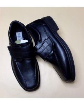 Topánky čierne, zapínanie na suchý zips, veľ.43