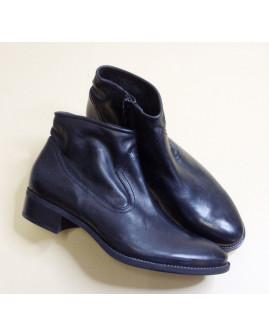 Členkové čižmy Paul Green čierne, nezateplené, veľ.5,5