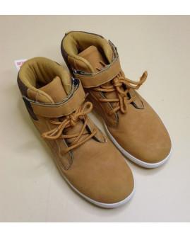 Členkové topánky Walkx svetlohnedé, mierne zateplené, veľ.35