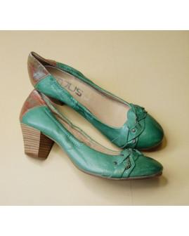 Topánky zelené, veľ.41