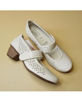 Topánky Easy Street biele, veľ.3,5